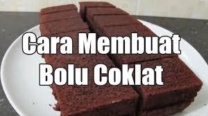 Resep Cake Coklat Lembut Untuk Pemula