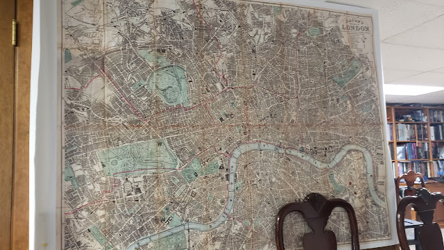 London Map from Banners on the Cheap