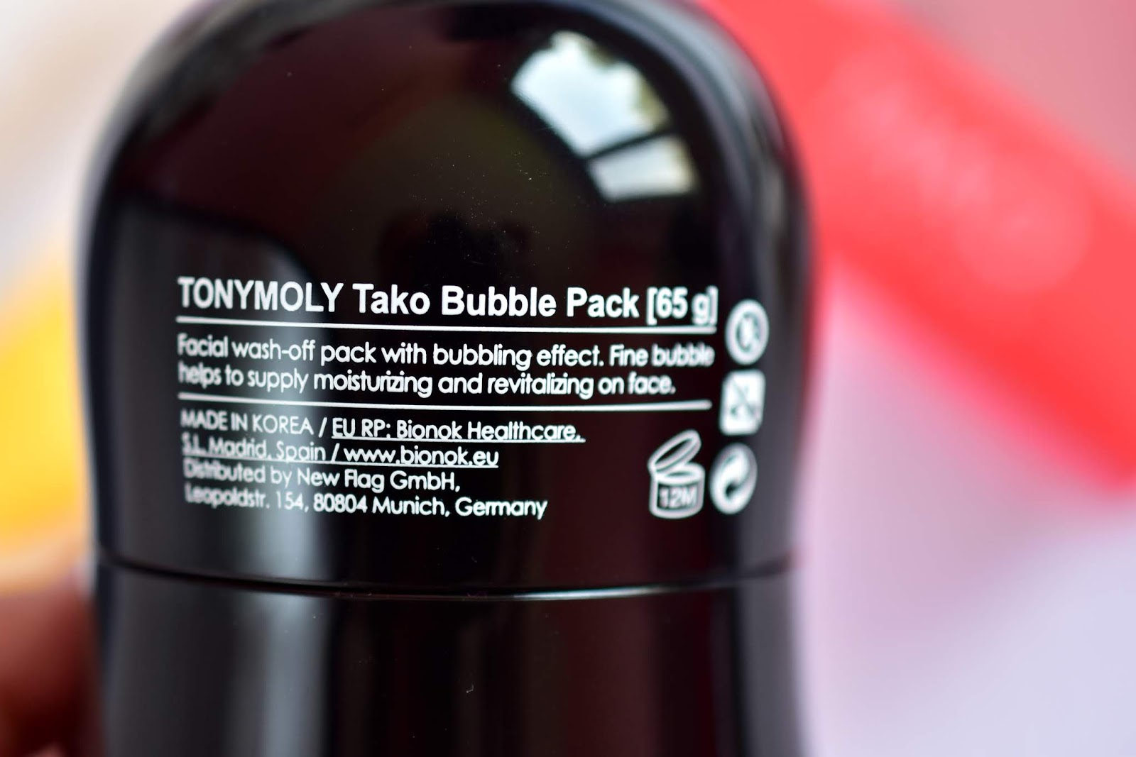 TONYMOLY TAKO Bubble Pack