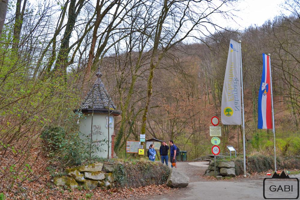 Wiedeń, wąwóz Hagenbachklamm, Austria