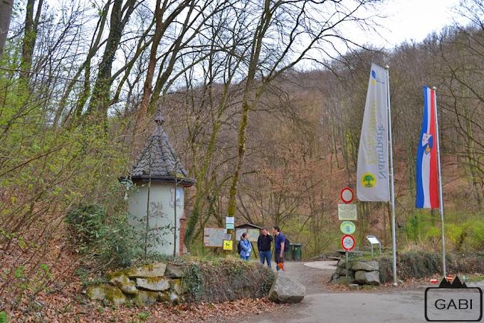 Wąwóz Hagenbachklamm na północ od Wiednia