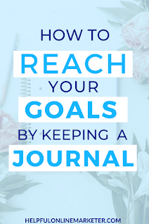 Are you feeling lost, and confused as to how you can reach your goals? Are you tired of your goals always seeming out of reach? In my blog post, I show you how keeping a journal can give you the clarity you need to set and reach your goals. No more feeling overwhelmed and confused. Click on the link below to check it out!  How to journal, my journal, goal setting, goal journal. #goalsetting #goalplanning #goaldigger #journalideas
