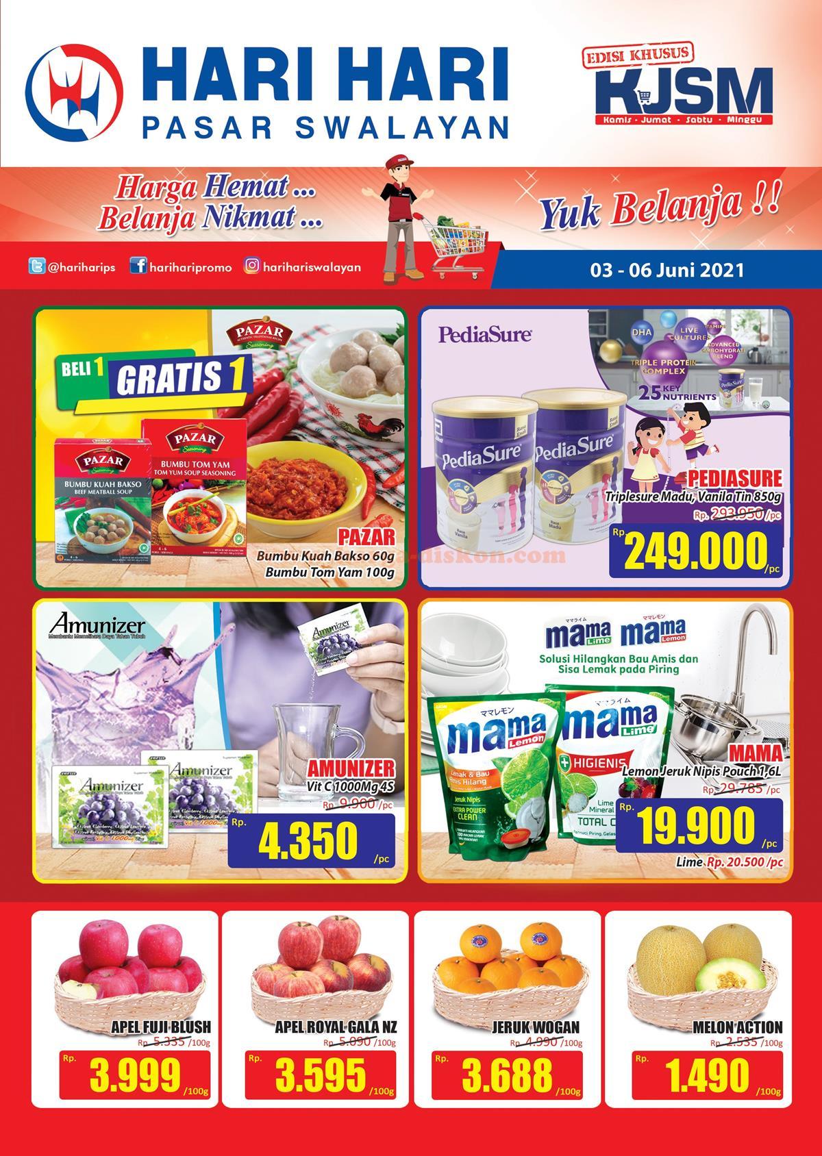 Promo HARI HARI Akhir Pekan Weekend Promo KJSM 03 - 06 Juni 2021