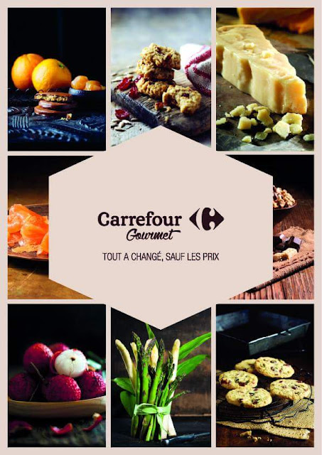 catalogue carrefour gourmet mars avril 2017