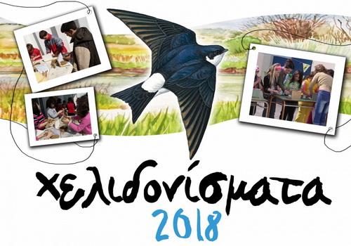 Χελιδονίσματα: Καλωσόρισμα της Άνοιξης και των χελιδονιών φτιάχνοντας τις φωλιές τους