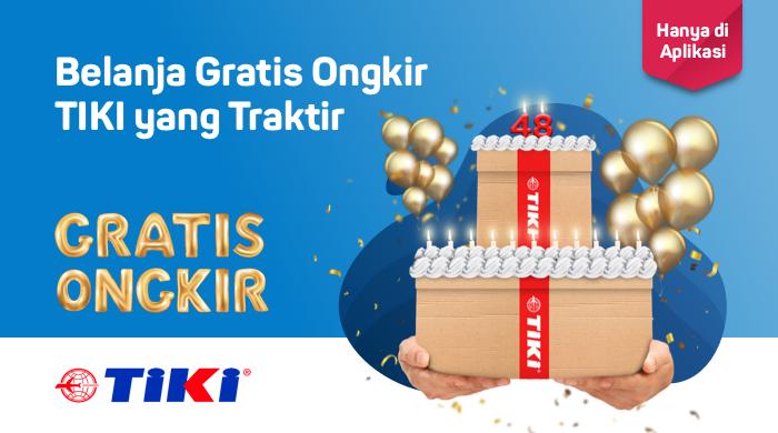 Bukalapak - Voucher Belanja Gratis Ongkir Pakai Tiki (s.d 7 Okt 2018)