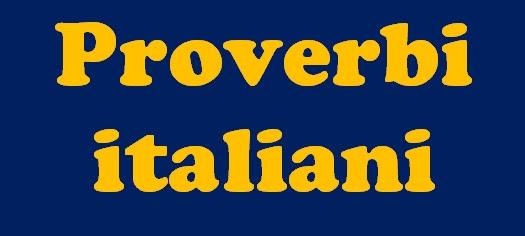 Indice - Proverbi italiani