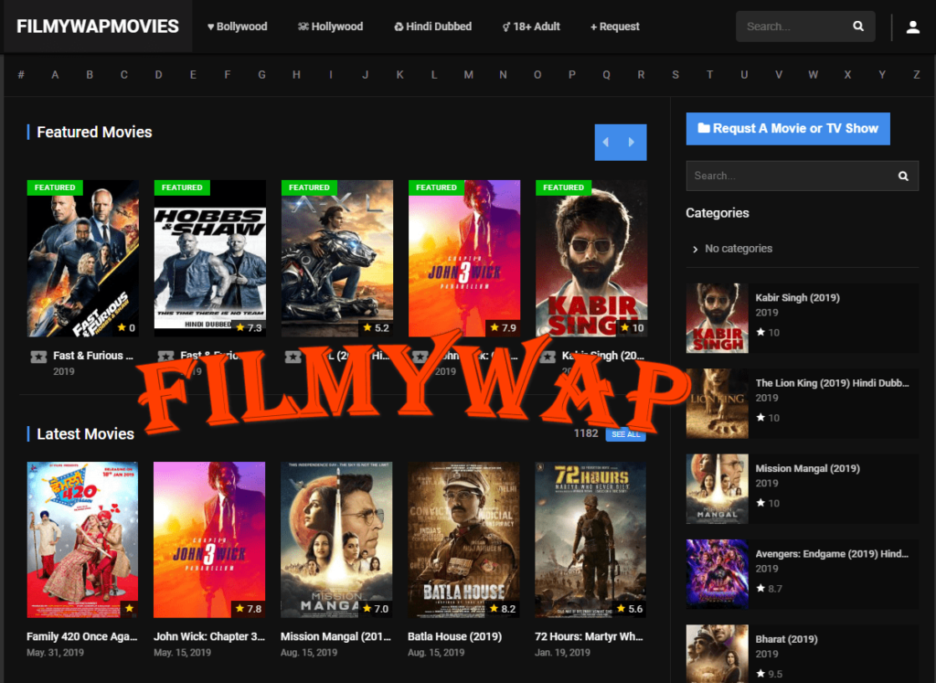 Filmywap 2019 HD Movies Free Download | cyber bunkers