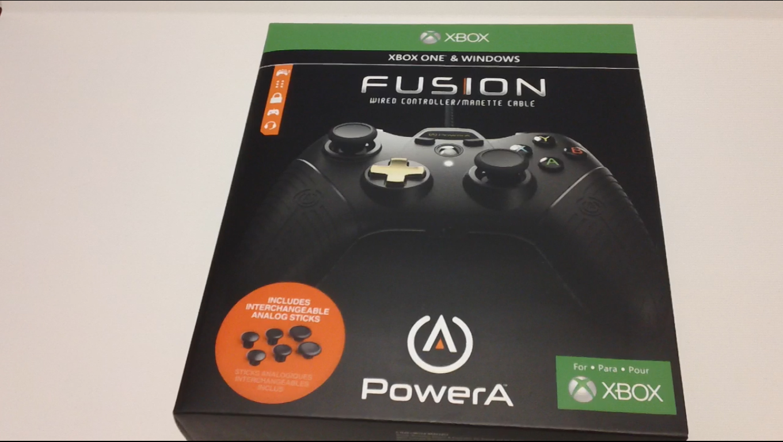 PSXboxIndies: PowerA FUSION Xbox One Controller Review