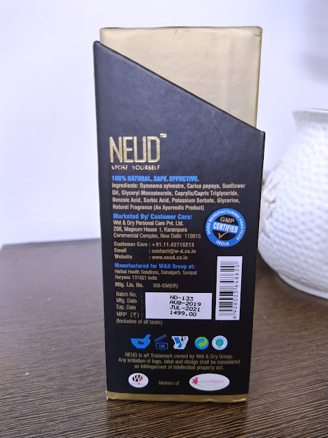 Neud X pose Yourself Natural Hair Inhibitor