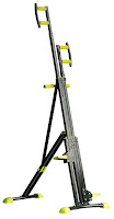 Merax Vertical Climber Exercise Climbing Machine, simulates rock climbing, uses your body weight as resistance, works upper and lower body targeting all the major muscle groups,