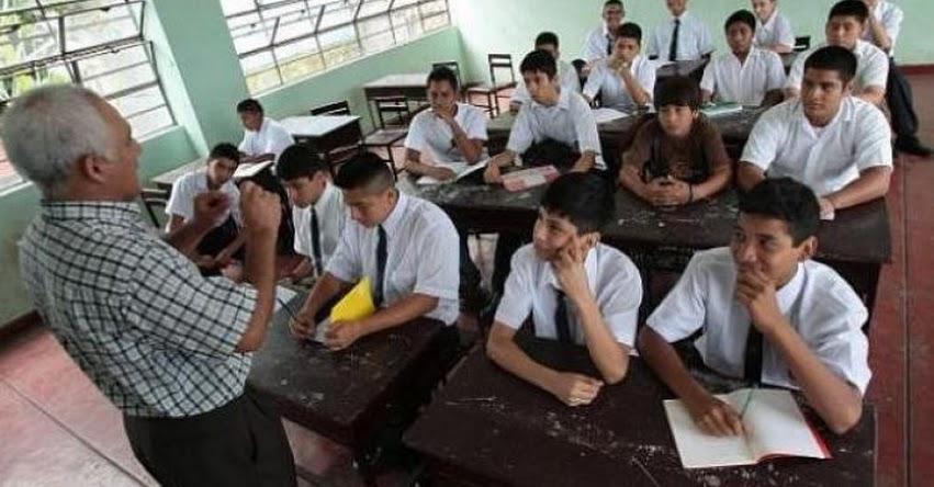 La aplicación del nuevo currículo escolar alcanzó al 33% de los alumnos del país, informó el MINEDU - www.minedu.gob.pe