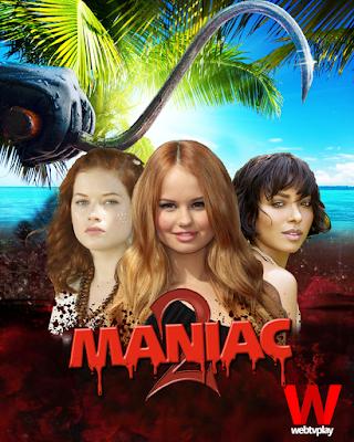 Três garotas em praia paradisíaca e um assassino