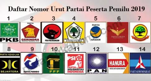 partai-lolos-pemilu-2019