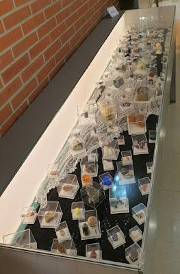 Exposición de Coleccionismo Minero en la Camocha. Minerales