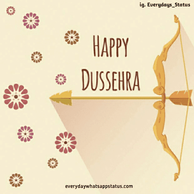 dussehra wallpaper | Everyday Whatsapp Status | Unique 20+ Dusshera Images with Wishes in English