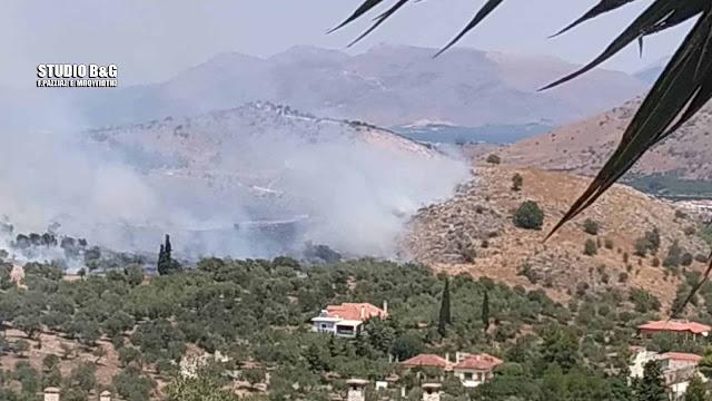 Πυρκαγιά στο Ναύπλιο