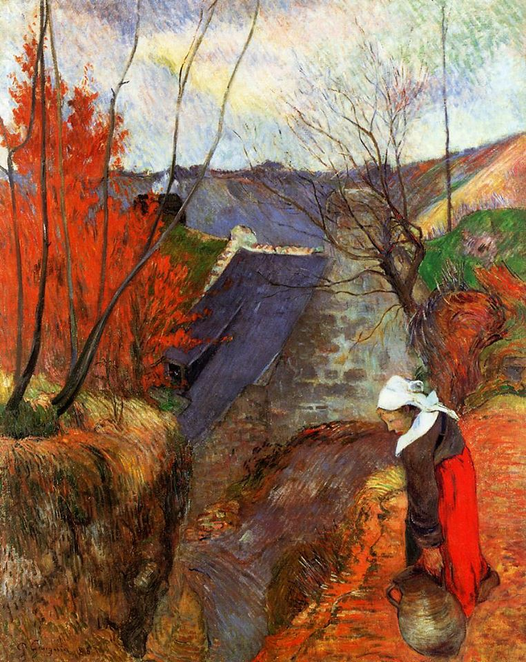Pont-Aven Artists' Colony: a brief history – 2, Gauguin ... |Gauguin Paintings