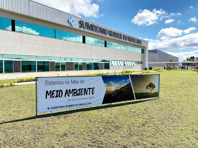 Sumitomo Rubber do Brasil segue política de sustentabilidade da matriz e já apresenta resultados