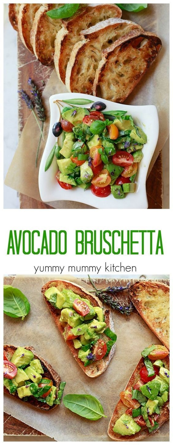 Avocado Toast Bruschetta