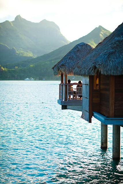 The Most Romantic Getaways - Bora Bora, French Polynesia