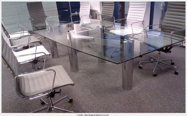 Wonderful Glass Conference Table Image