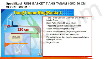 ring basket tanam standar internasional
