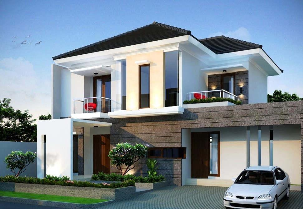 Model Rumah Mewah 2 Lantai