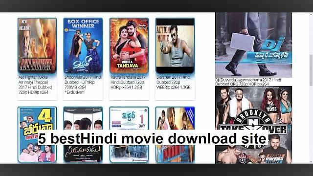 Hindi movie download best 5 site