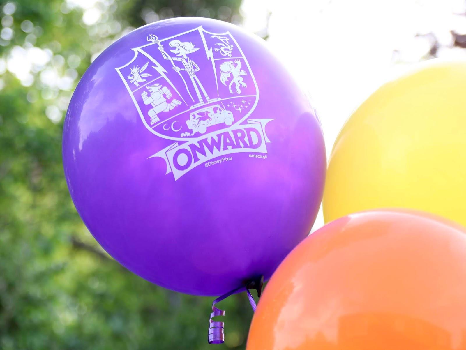 disney pixar onward birthday party