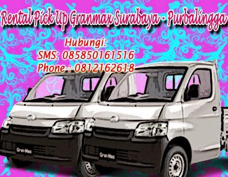 Sewa Pick Up Granmax Surabaya - Purbalingga