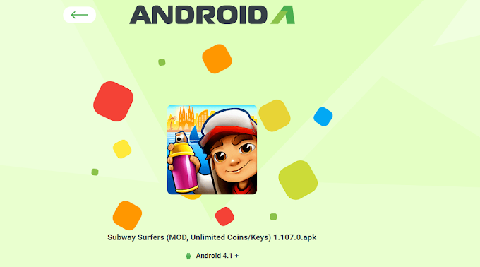 Subway Surfers 1.107.0 Unlimited Keys & Coin + Unlock Mod Apk 2019