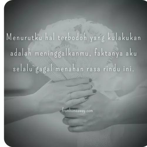 kata Rindu Mantan kekasih