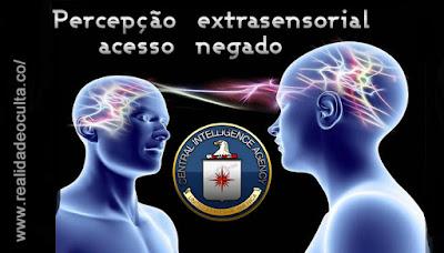 CIA perceção extrasensorial