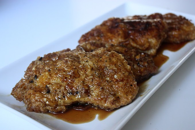 Generous Garlic Pork Chops