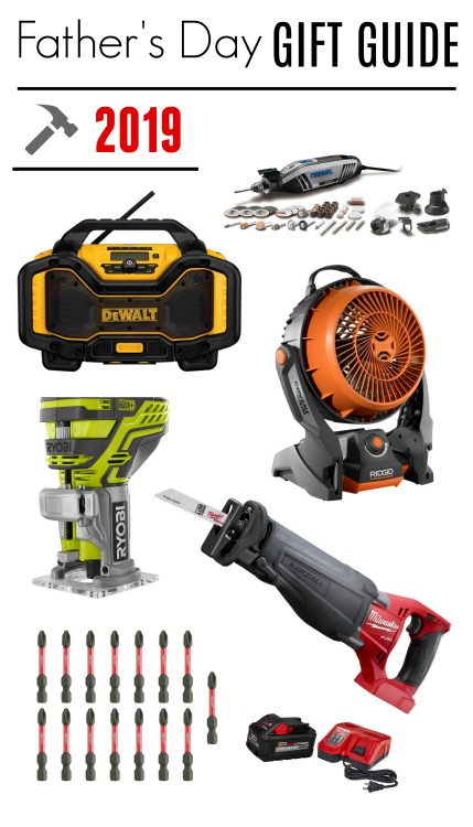 Cool and useful Fathers Day gift ideas for the tool lover or any handy dad in your life
