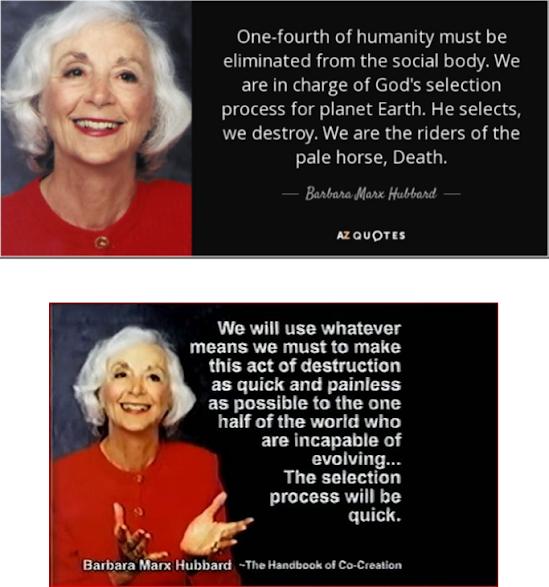 New Age eugenics oligarchy elitism futurism indoctrination scientism Club of Rome population control