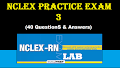 NCLEX Practice Exam 3 (40 Items)