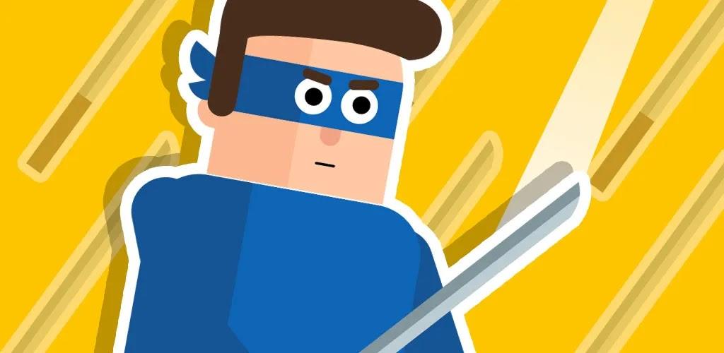 Mr Ninja - Slicey Puzzles سيصبح اللاعبون نينجا مزودًا بأسلحة مختلفة. يطارده الخصوم ويحتجزون الرهائن لترهيبه