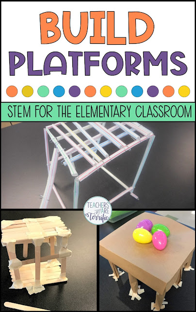 Building several kinds of platforms has proven to be great STEM Challenges! The best part of this trio of challenges is the ease of use. I have provided you with detailed directions and hints and the materials are super easy to gather. In fact, the materials are things you already have!