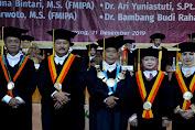 Unnes Mengukuhkan Empat Profesor Baru