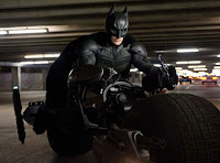 Batman on the BatPod, The Dark Knight Rises