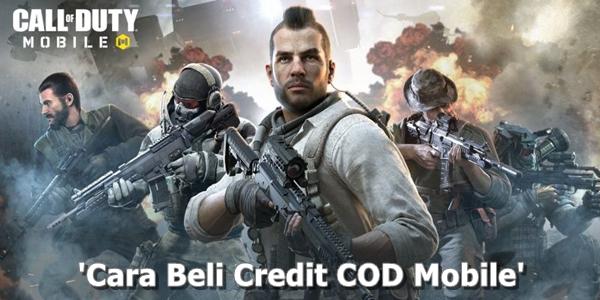 Cara Beli Credit COD Mobile