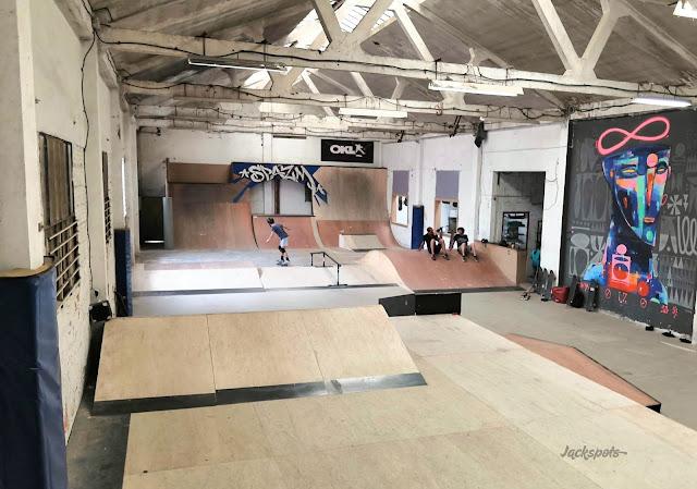 skatepark couvert toulouse