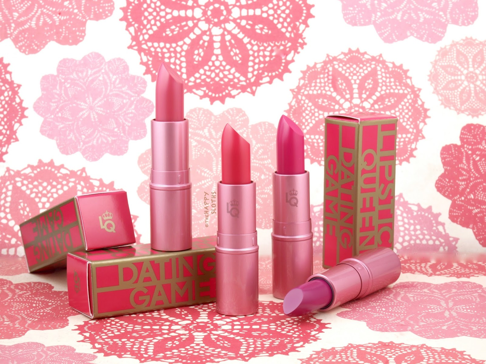 Lipstick Queen | Dating Game Collection: Review and Swatches