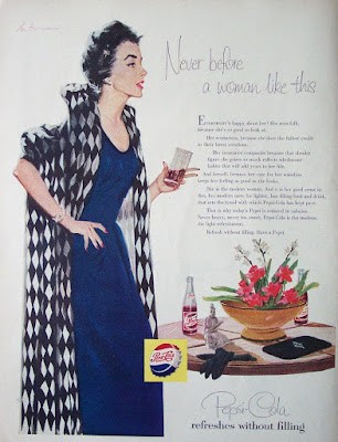Pepsi - Never before a woman like this