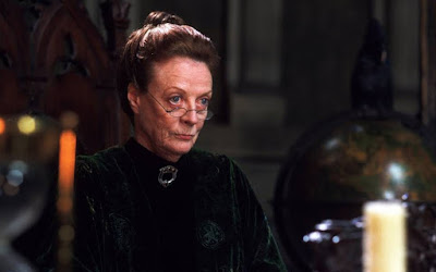 Maggie Smith as Professor McGonagall