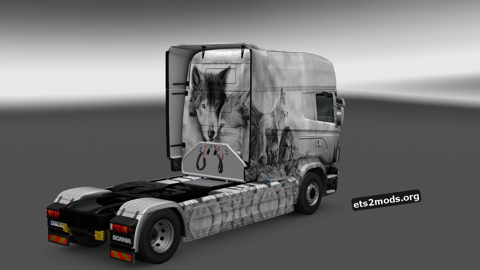 Scania RJL Longline Skins Pack by Aleksandro