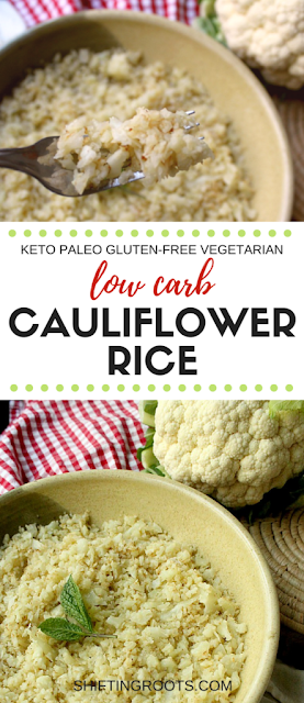 Low Carb Cauliflower 'Rice'
