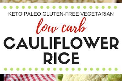 Low Carb Cauliflower 'Rice'